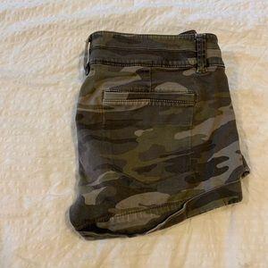 Express Shorts - Camouflage shorts